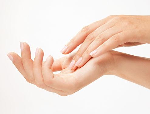 odmładzanie rąk