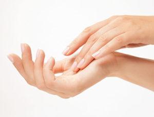 odmładzanie dłoni
